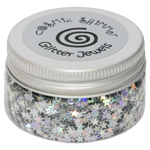 Holographic Stars Cosmic Shimmer Glitter Jewels